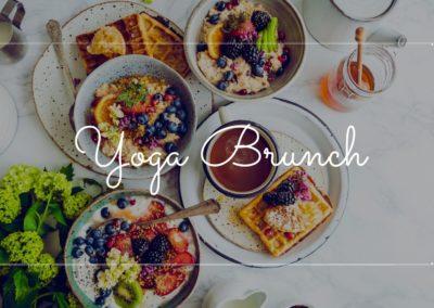 Yoga et brunch