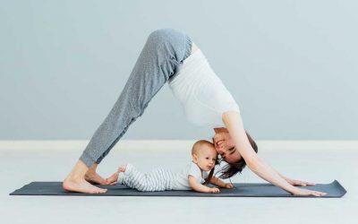 Yoga Postnatal en live